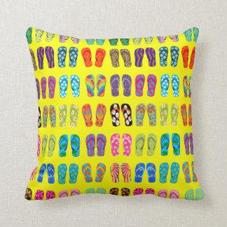 Almohada de los flips-flopes