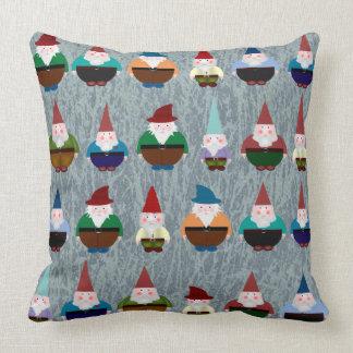 Almohada de los gnomos cojín decorativo