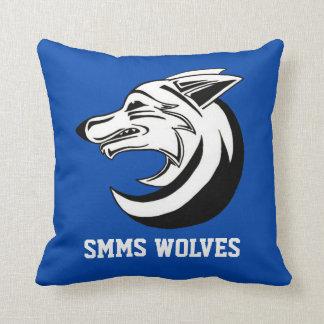 Almohada de los lobos de SMMS