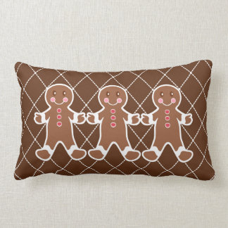 Almohada de los muchachos del pan de jengibre