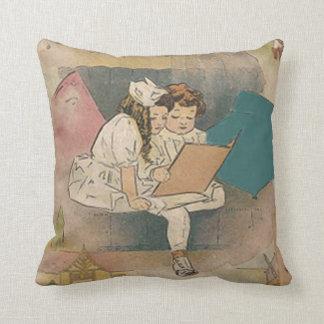 Almohada de los niños de Homeschooling del vintage