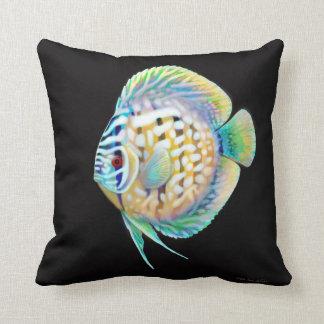Almohada de los pescados del acuario del Cichlid d