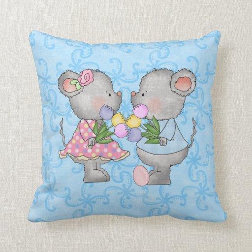 Almohada de los ratones de Pascua