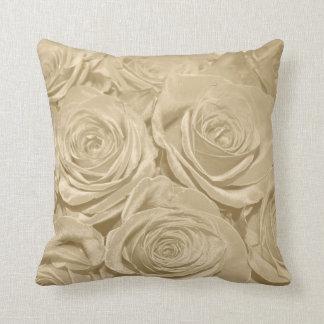 Almohada de los rosas de Champán