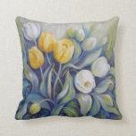 Almohada de los tulipanes