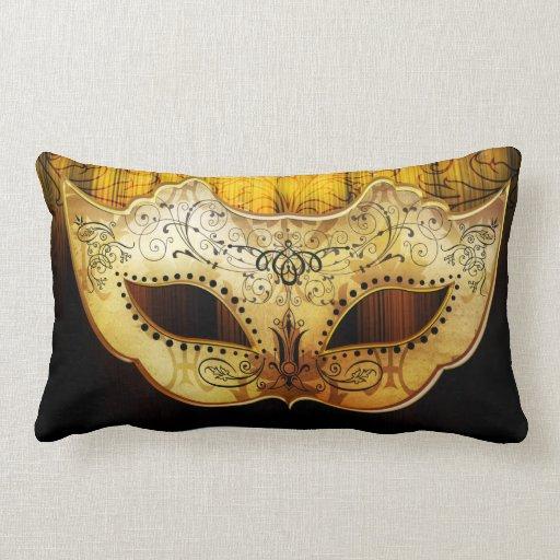 Almohada de lujo de la máscara de la mascarada del