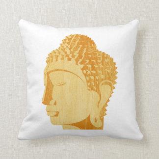 Almohada de madera de Buda