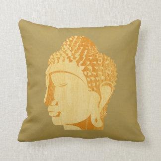 Almohada de madera de Buda (colores inversos)