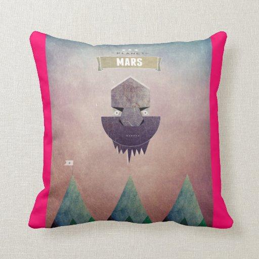 Almohada de Marte del planeta