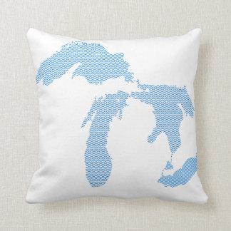 ¡Almohada de Michigan! Cojines