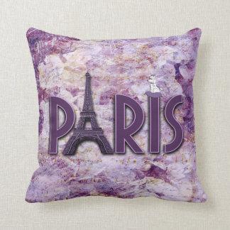 Almohada de moda del acento de la torre Eiffel de