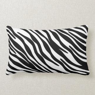 Almohada de moda del estampado de zebra