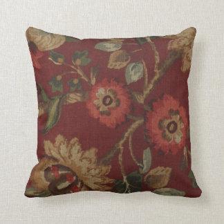 Almohada de MoJo de la impresión floral del vintag