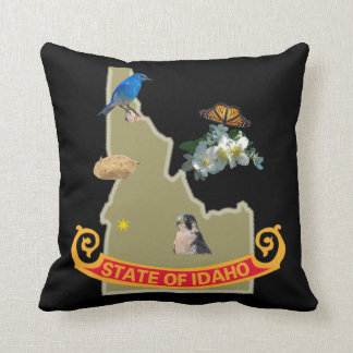 Almohada de MoJo del americano de Idaho