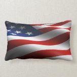 Almohada de MoJo del americano de la bandera ameri