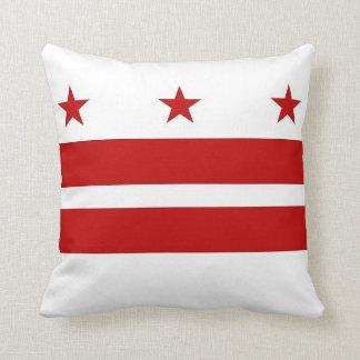 Almohada de MoJo del americano de la bandera del W