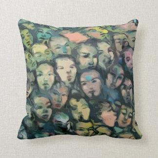 Almohada de MoJo del americano de la pintada del m