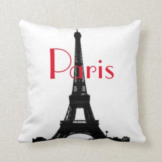 Almohada de MoJo del americano de la torre Eiffel
