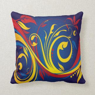 Almohada de MoJo del americano de los colores prim