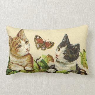 Almohada de MoJo del americano de los gatitos