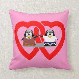 Almohada de MoJo del americano de los pingüinos de