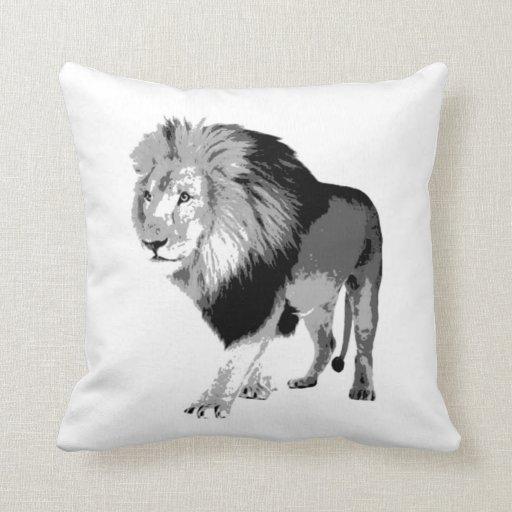 Almohada de MoJo del americano del león