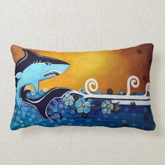 Almohada de MoJo del americano del tiburón