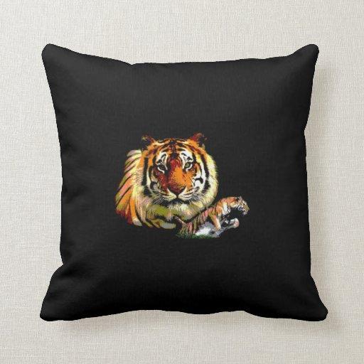 Almohada de MoJo del americano del tigre
