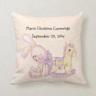Almohada de MoJo del caballo mecedora del bebé y d