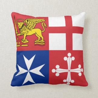 Almohada de MoJo del escudo de armas de la marina