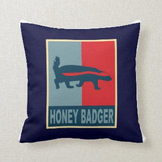 almohada de obama del tejón de miel