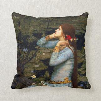 Almohada de Ofelia del Waterhouse