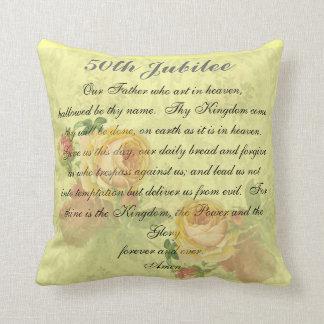 Almohada de oro del jubileo de las monjas