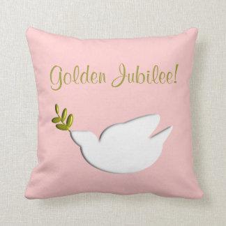 Almohada de oro del jubileo de las monjas católica