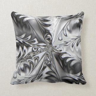 Almohada de plata del remolino