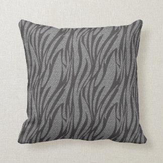 Almohada de plata fresca del modelo del estampado