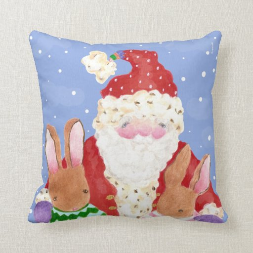 Almohada de Santa y de los conejos