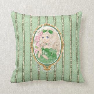Almohada de señora Jewel (esmeralda)
