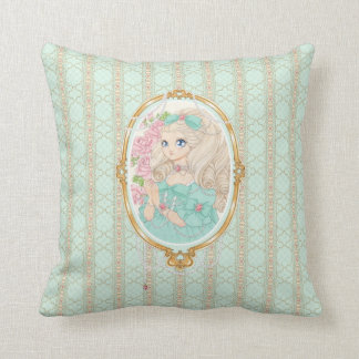Almohada de señora Jewel (menta)