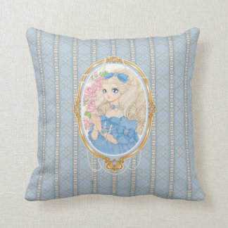 Almohada de señora Jewel (zafiro)