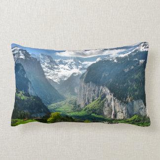Almohada de Suiza, valle de Lauterbrunnen