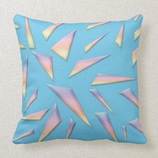 Almohada de tiro abstracta de encargo del algodón