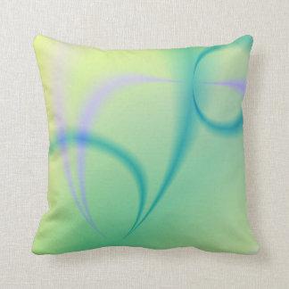 Almohada de tiro abstracta del fractal