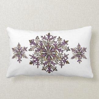 Almohada de tiro adaptable real de la nieve el | d