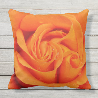 Almohada de tiro al aire libre de la flor color de cojín decorativo