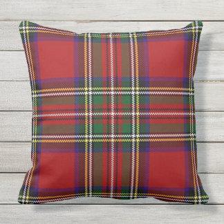 Almohada de tiro al aire libre del diseño rojo de cojín decorativo
