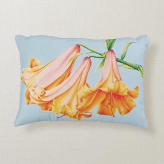 Almohada de tiro anaranjada de la pintura de la cojín decorativo