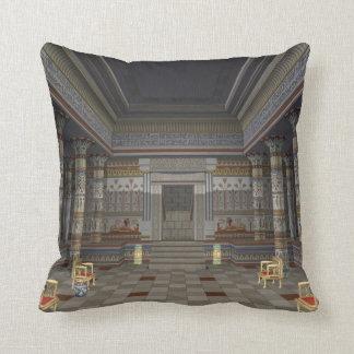 Almohada de tiro antigua de Pasillo del egipcio
