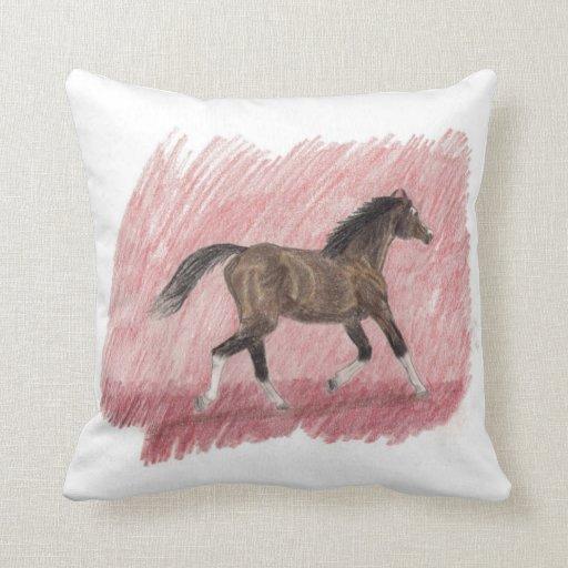 Almohada de tiro árabe del caballo