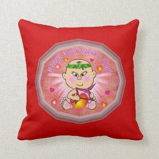 Almohada de tiro asiática del bebé del Cupid